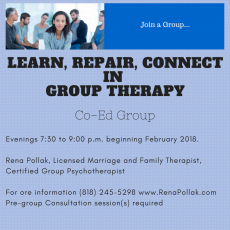 Do You Want to Join a Psychotherapy Group Starting in February?